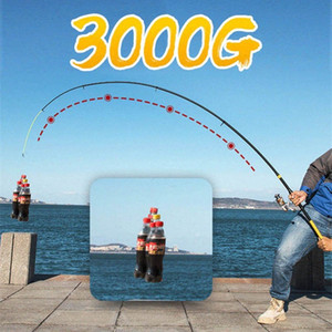 JOSBY Super Hard Удочка 99% углеродного волокна 1.8-3.6M FRP Spinning полюс море Рыбалка Стик Металлическое кольцо ac5I #