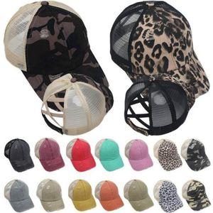 PoneyTail Tennis Cap Capuchon de baseball Sport en plein air Sunhat Hat Hat Hat Hat Hat Summer Réglable Lavable Respirable Baseball Cap DA728