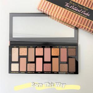 Born This Way Eyeshadow естественные обнаженные 16 Color Eyeshadow Блеск Матовый High Пигментные Легко наносится макияж водонепроницаемый Eyeshadow Palette