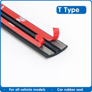 Fillers Automobie Rubber Strip Edge Sealing Strips Auto Roof Windshield Sealant Protector Seal Strip Sound Insulation Window Seals for