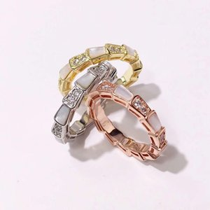 Fashion Brand Band Ring Punk Silver silver woman Rose Gold Stainless Steel Green Amber Spike Rings Jewelry For Men Women