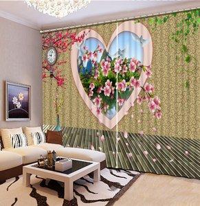 Euporean 3D Штора Креативное озеро кальмар Окно 3D занавес для гостиной дом Декора