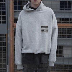 TOP 20SS Eye Foto Printed High Street Hoodys Einfache beiläufige lange Hülsen-Pullover Männer Frauen Hoodies Pullover Außen HFYMWY416