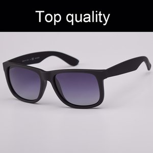 Top-Qualität Justin 4165 UV400 polarisierte Sonnenbrille Männer Frauen Sonnenbrille Justin Nylon-Rahmen Sonnenbrillen mit Zubehör