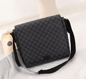 Hot best quality Designer bag Luxury women message bag Genuine Leather Mens designer handbags brand backpack 33-27-9cm M41212 02