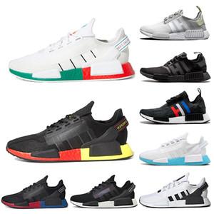Adidas nmd r1 2019 модельер R1 мужчины женщины кроссовки Япония тройной белый черный Bred OG крем мужские кроссовки женщины спортивные кроссовки размер 36-45