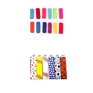 I titolari del neoprene Popsicle Popsicle Borsa Maniche Colorful Ice Cream antigelo riutilizzabile In Stock Summer alimentazione 1 8lb H19