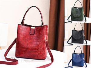 Saddle Bucket Bags For Women 2020 Letter Wide Strap Ladies Crossbody Shoulder Bag New Handbag#800