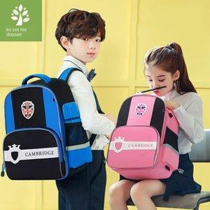 u8phX National kk Tree Bag Protective backpack Primary School schoolbag Boy 1-3-4-6 grade children Backpack 6-12 year old girl Ridge protect