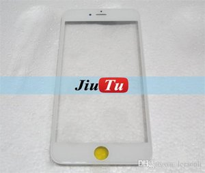 10шт / Lot высокого качества Переднее стекло объектива с Ближнего рама + ОСА пленки для iPhone 6/6 Plus / 6S / 6S Plus Outer Glass ободок Housing