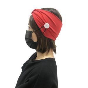 Moda Solid Pianura Poliestere Sport headwraps Scrunchies per donne quotidiana Boutique Fasce Yoga Copricapo Maschera del supporto dei monili dei capelli