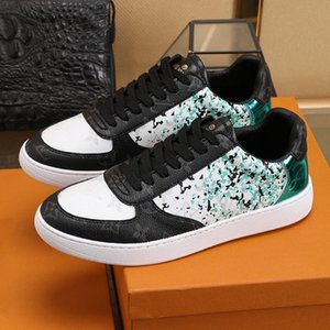 high quality mens designer shoes Luis vuitons Trainer sneakers Monogram Flowers trainer shoes basketball shoes 19louisvuiton