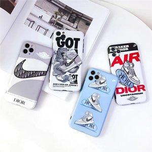 AJ AIR X مصمم الأزرق الهاتف المحمول القضية للحصول على 11 برو XS ماكس XR X 7 8 زائد