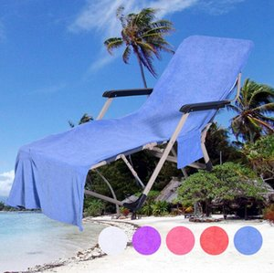 Microfiber Sunbath Lounger Bed Lounger Mate 210*73cm Chair Beach Towel Holiday Leisure Garden Beach Towels Sea Shipping OOA4702