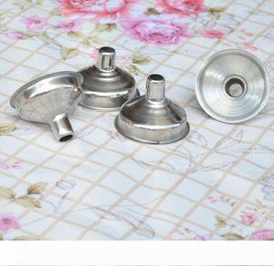 300pcs lot RA Stainless Steel Flask Funnel mini wine Funnel Hopper Free Shipping #451654