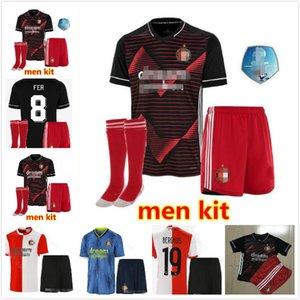 Adult + kids kit socks 20 21 Feyenoord soccer jerseys 2020 2021 LARSSON V.PERSIE BERGHUIS VILHENA Feyenoord Rotterdam football JERSEY SHIRT