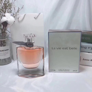 Perfume Senhora Womens Eau De Parfume LA VIE EST BELLE duradoura fragrância Desodorante Boa Qualit Fragrances Parfumes caixa de incenso 75ML spray