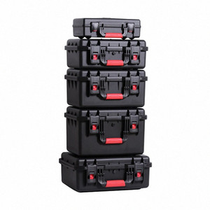 Outdoor Shockproof Waterproof Boxes Protective Safety Case Plastic Tool Box Dry Box Safety Equipment Tool Storage with Sponge ff4i#