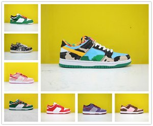 высокое качество SB Коренастый Dunky Кентукки Повседневная обувь Платформа Мужчины Женщины кроссовки Плам Сиракуза Safari Скейтборд Спорт Chaussures Размер 36-45