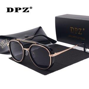 2020 DPZ Mode Femmes Lunettes de soleil rondes pour les hommes Brand Design Lunettes de soleil d'été Femmes Shades