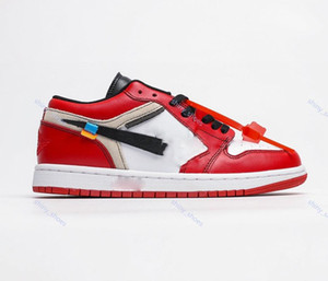 2020 xshfbcl High Quality 1 White black red Blue Basketball Shoes For Men 10X Chicago Bred 1s Mens OFF Trainers Athletic Sport Sneakers