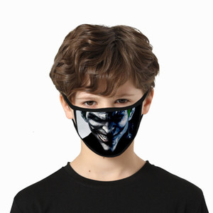 Clown skeleton mask dust-proof and haze-proof digital printing mask water-wash water-resistant ice silk mask