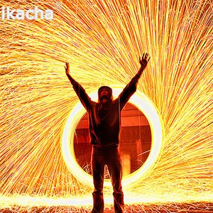 2Pcs Selfie Tool Steel Wool Photography Spectacular Fiery Photo High Quality Metal Fiber For Light Painting Long-Exposure Effect