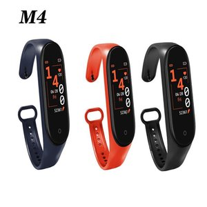M4 Smart Band Fitness Tracker Watch Sport bracelet Heart Rate Smart Watch 0.96 inch Smartband Monitor Health Wristband PK mi Band 4