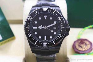 maître Top fait montre en acier inoxydable luxe automatique 44mm lumineux montre étanche 30m
