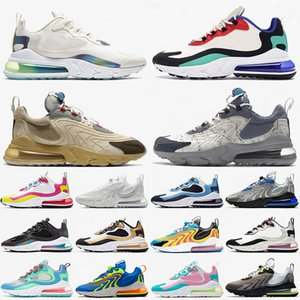 nike air max airmax 270 react eng Nuovo React Eng Scarpe da corsa Travis Scott Cactus Trails Bauhaus Blue Bubble Pack Tennis Sport Uomo Donna Scarpe da ginnastica Cuscini Sneakers