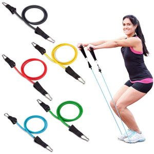 Yoga Fitness Pull Rope 11pcs set Pull Rope Fitness Exercises Resistance Bands Latex Tubes Pedal Excerciser Body Training