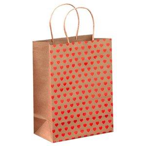 10pcs Home Reusable Celebration DIY With Handle Lightweight Storage Bronzing Gift Birthday Paper Bag Multifunctional Decorative
