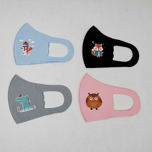 Resuable Mask children Masks face Mouth nose protection cotton masks washable fashion Anti-dust masks dust proof DHL Fast Delivery