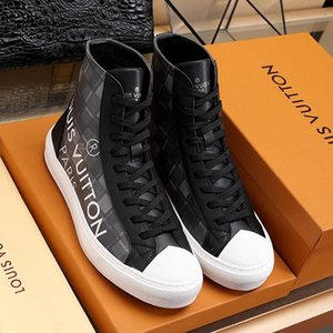 New Casual Mens Shoes Luxury Trainer Fashion Sneakers Footwear Platform Zapatos De Hombre With Origin Box Tattoo Sneaker Boot Mens Shoes
