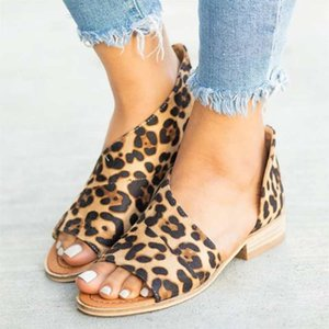 Flat Sandals For Summer Causal Shoes Woman Peep Toe Low Heels Sandalias Mujer Summer Shoes 35-43