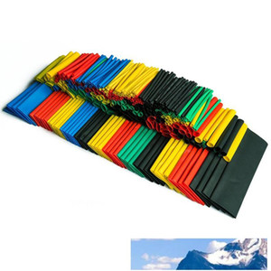 328PCS Colorful Assorted Heat Shrink Tube 5 Colors 8 Sizes Tubing Wrap Sleeve Set Combo Sale