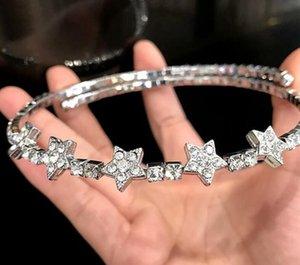Di lusso della stella di Chocker collane con collana Chockers designer di gioielli cristallo brillante M UI di marca per il regalo del partito