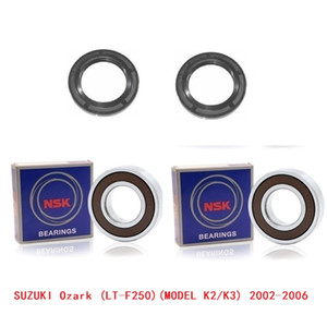 Wholesale front and rear Bearing Wheel KIT for SUZUKI Ozark 250 LT-F250 LTF250 (MODEL K2 K3) 2002-2006