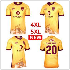 30 Aniversario Edición 2020 nueva MAROONS Jersey de rugby Australia QLD rugby jerseys cimarrones Jersey Liga camisa S-5XL
