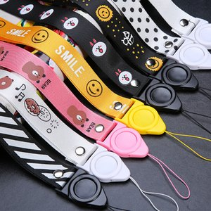 Phone Designer Lanyard Cell Phone Strap Neck Lanyard Mobile Phone Lanyard Wide Version Detachable Rotating Long Flat Rope Comforatable