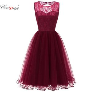 Wholesale Explosion Models New Openwork Lace Vintage Pettiskirt Dress 2019 Spring And Summer CD074 ynyg#