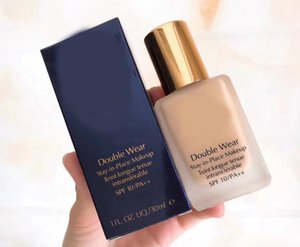 Dropshipping Top Quality Double Wear Liquid Foundation Soggiorno in posizione Trucco 30ml Nudo Cuscino Nudo Stick Radiant Makeup Foundation 14ml