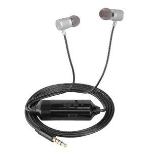 VBESTLIFE Phone Call Recorder écouteurs de 3,5 mm Jack Conversation enregistrement dans l'oreille Mini écouteurs pour iPhone Livraison gratuite