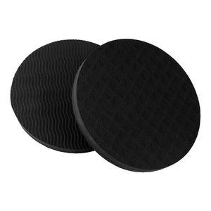 Portable Piccolo rotonda Yoga Materassini protezione di slittamento non TPE Tappetino Fitness Sport piatto Plank Supporto Palestra Pad del ginocchio