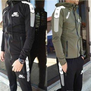2020SS High quality new men's sportswear long sleeve letter Sweatshirt + pants two piece men's jogging suit