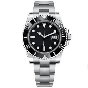 2020 heiße schwarze Herren-Uhr Top 116610 Sapphire Keramik-Lünette mechanische Automatik-Uhrwerk Herrenuhr Uhren Männer Sport sub Selbst Wind Armbanduhr