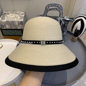 Femme Panamá sombrero de la vendimia Hombres Fedora de la paja Sunhat playa de las mujeres de Sun del verano casquillo del visera del sombrero flexible Chapeau Cool Jazz Cap Sombrero BB301