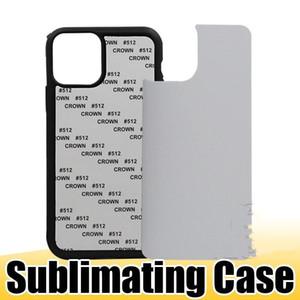 2D Sublimation plástico rígido DIY Designer Phone Case TPU PC sublimar em branco Capa para iPhone 11 XS MAX XR Samsung S20 Além disso dh_n kdNvxS