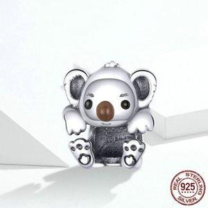 Le ragazze di Charme Koala bambino collana di fascino del pendente delle donne DIY bracciale charms monili che fanno animale bella Girl Friend Presents