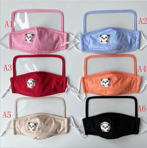 3-7 è arrivato negli Stati Uniti! maschere per bambini anti-foschia puro cotone PM2.5, maschere stampati integrati con filtri protettivi 2 cotone